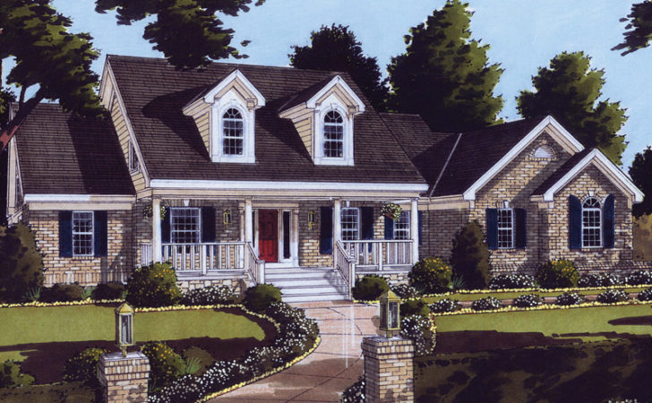 Nantucket Place Cape Cod Home Plan House Plans