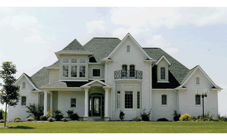 Naperville European Style Home Plan House