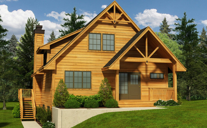 Narrow Lot Cottage House Plan Floor Master