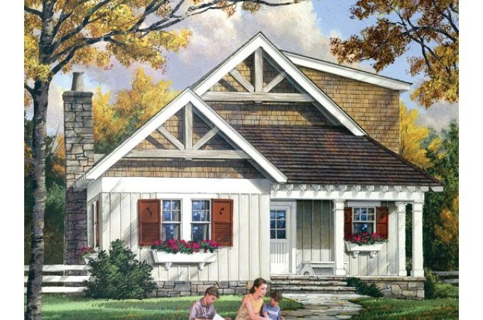 Narrow Lot House Plans Eplans