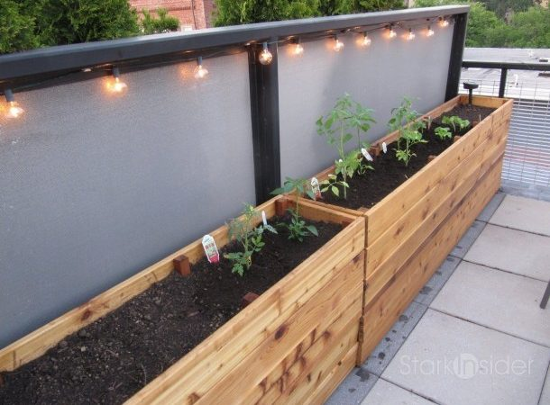 Narrow Planter Box