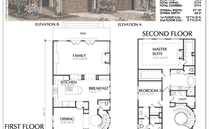 Narrow Urban Home Plans Small Lot Inner City House