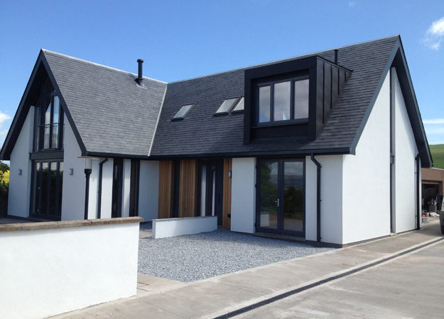 New Build Eco House Smithy Cottage Laurencekirk Axn