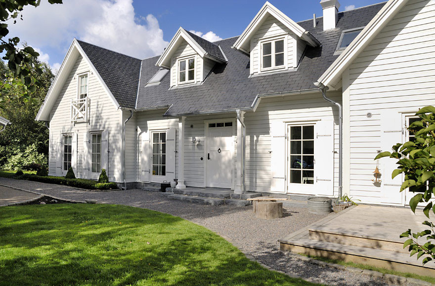 New England Style Dream Villa Sweden Idesignarch