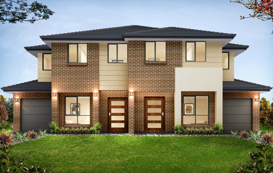 New Home Builders Kensington Duplex Storey