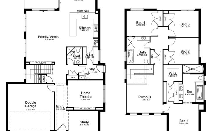 New Home Builders Mayfair Double Storey Designs