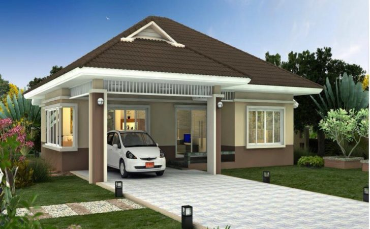 New Home Construction Designs Small Bungalow