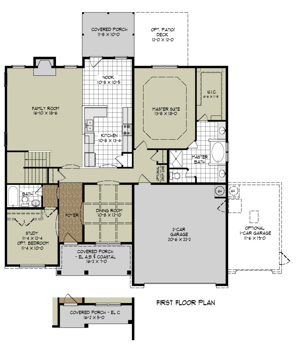 New House Floor Plans Home Design