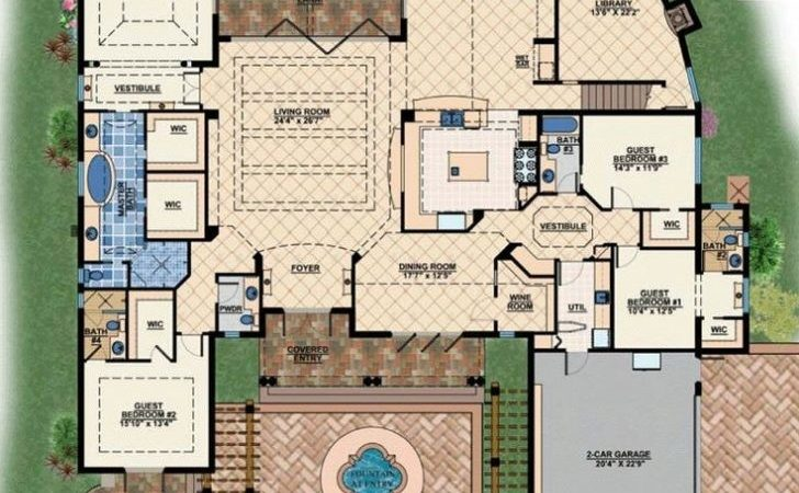 New Modern Mediterranean House Plans Home Design