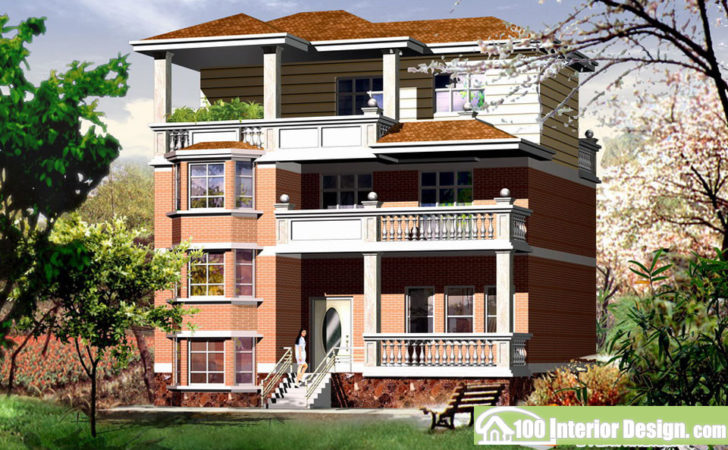 New Three Storey Building Countryside Design