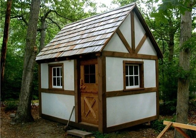 New Timber Framed Cottage Cabin Tiny House David