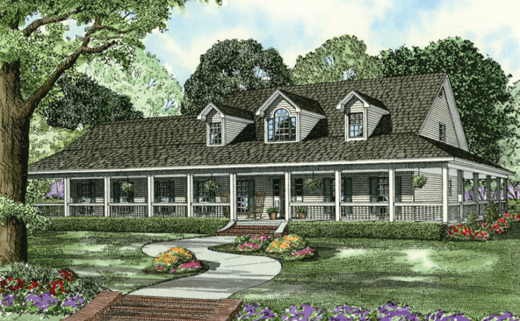 Newberry Terrace Farmhouse Plan House Plans
