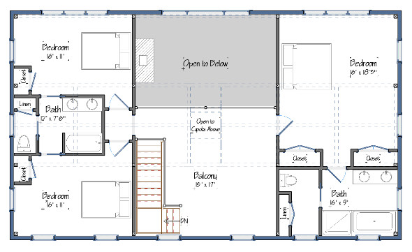 Newest Barn House Design Floor Plans Yankee