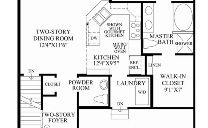 Newtown Woods Townhome Collection Hickory Home Design