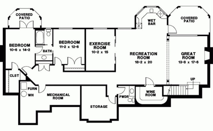 Nice Bedroom House Plans