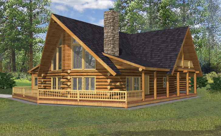 North West Style Log Home Cabin
