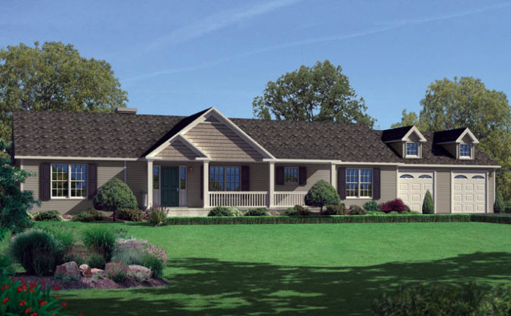 Norwood Story Modular Home Floor Plan