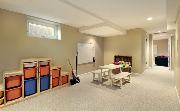 Not Sure Your Blank Canvas Basement