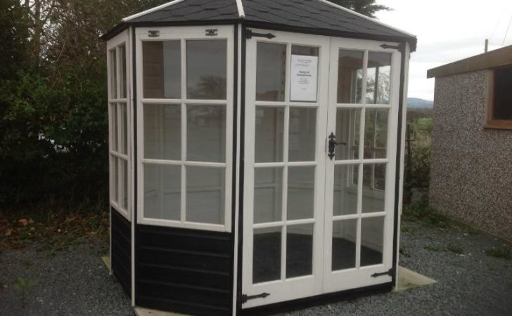 Octagonal Summerhouse Megasheds North Wales