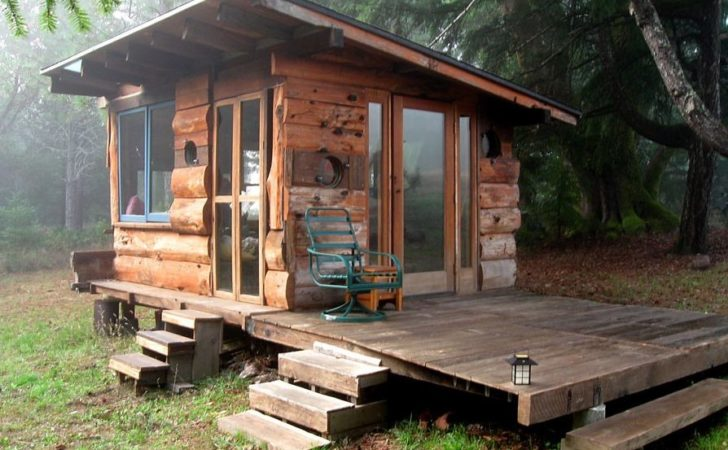 Off Grid Tiny House Deep Carolina Woods Built