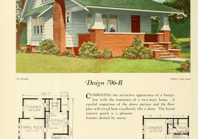 Old Bungalow House Plans