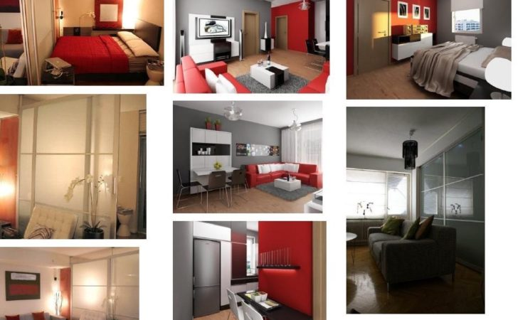 One Bedroom Apartment Designs Example Astana
