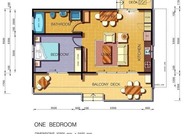 One Bedroom Granny Flat Design Auswide Flats