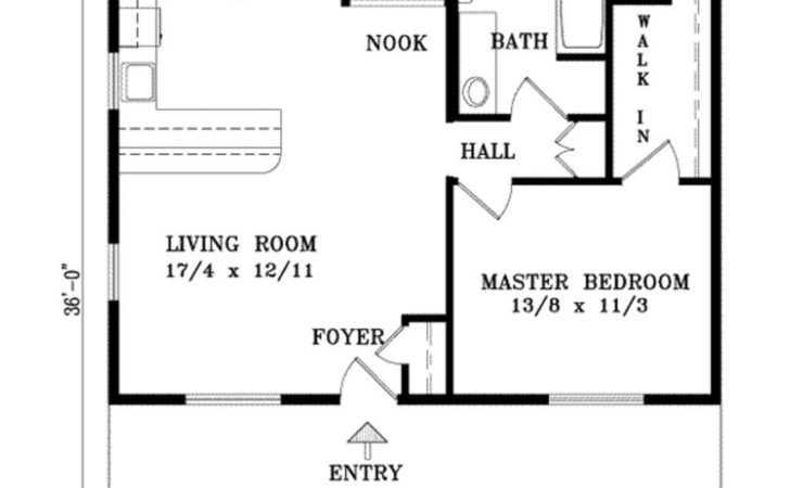One Bedroom House Plan Kids Leave Would
