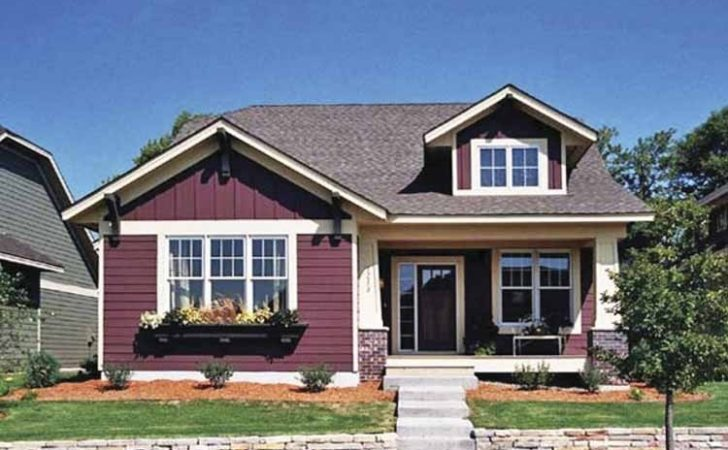 One Storey House Rooftop Simple Home Decoration