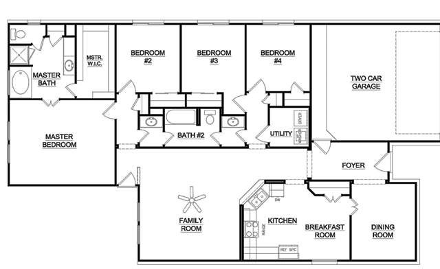 One Story Bedroom House Plans Good First More