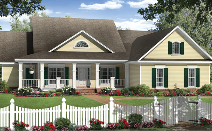One Story Country House Plans Magruderhouse