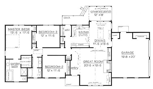 One Story Country House Plans Smalltowndjs