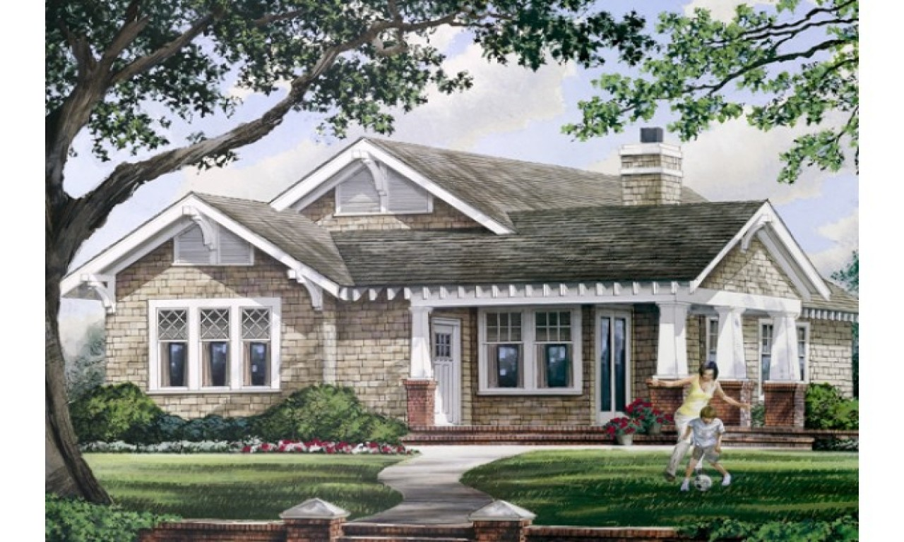 One Story House Plans Wrap Around Porch