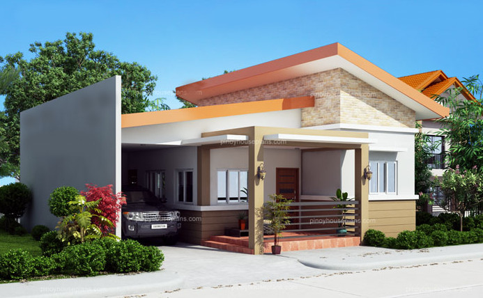 One Story Simple House Design Home