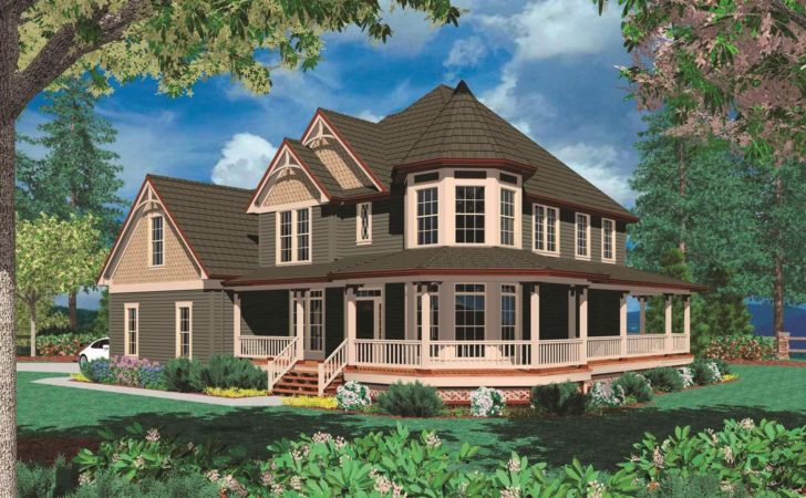 One Story Victorian Farmhouse Plans