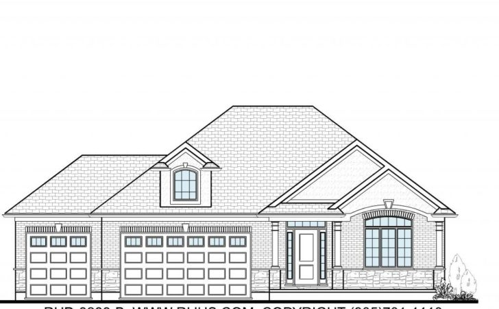 Ontario House Plans Design
