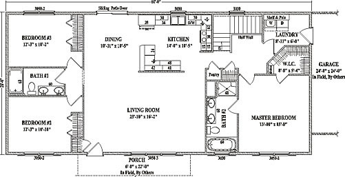 Open Floor Plans Ranch Style Homes