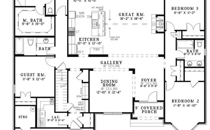 Open Home Plans Smalltowndjs