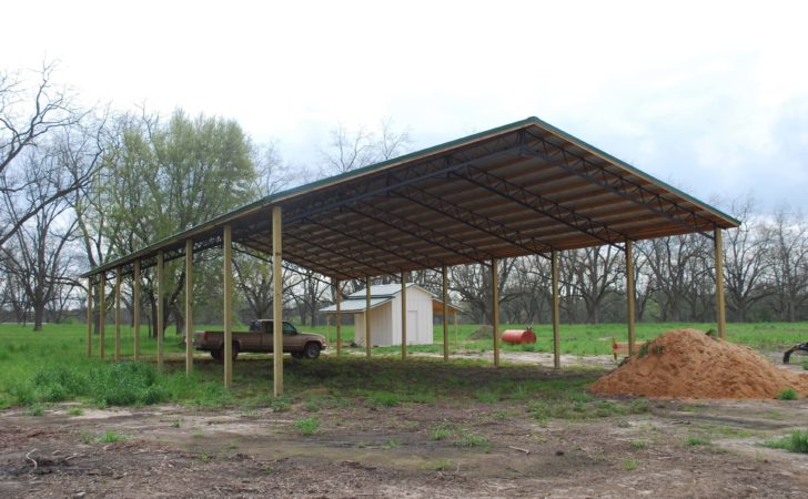 Open Shelter Fully Enclosed Metal Pole Barns Smith Built