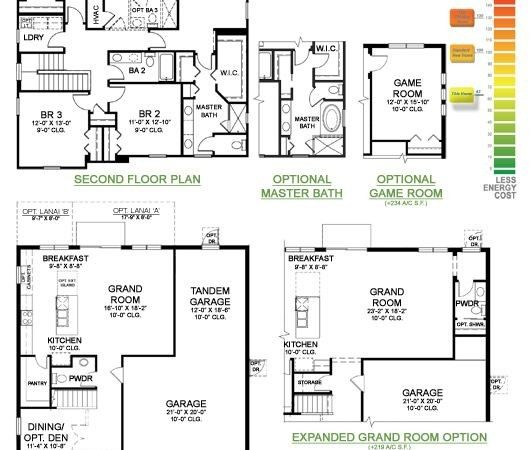 Osprey Floor Plan Two Story Home Upstairs Owner