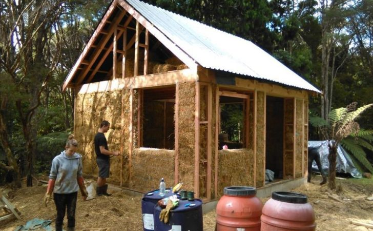 Our Attempt Building Small Straw Bale House