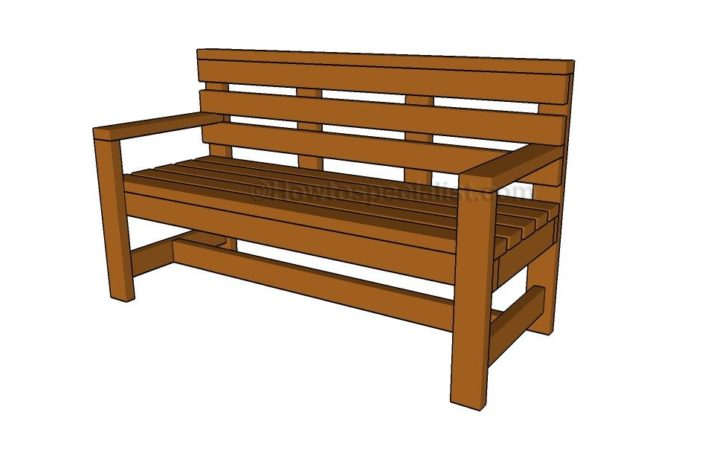 Outdoor Bench Plans Howtospecialist Build Step