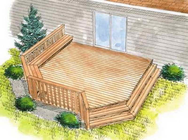 Outdoor Find Right House Deck Plans Homeplans