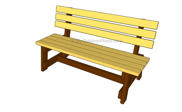 Outdoor Garden Bench Plans Quick Woodworking Projects