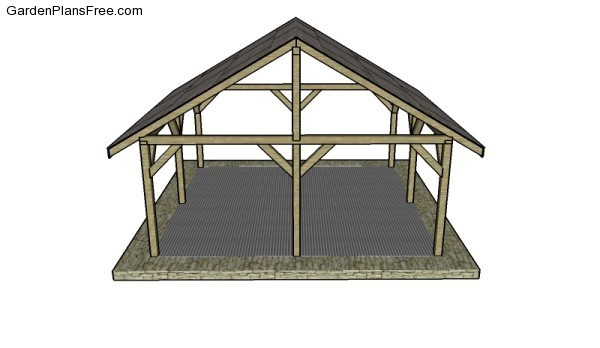 Outdoor Shelter Plans Garden Build