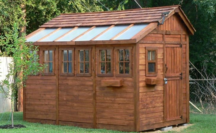 Outdoor Storage Shed Plans Woodworking Design