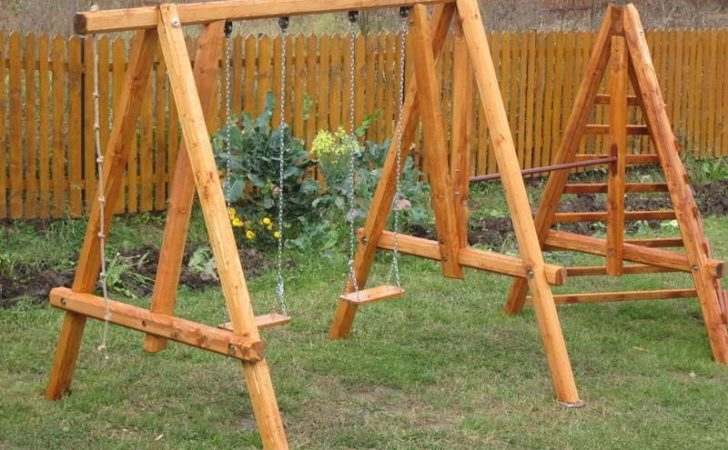 Outdoor Swing Set Plans Home Decor Yourself