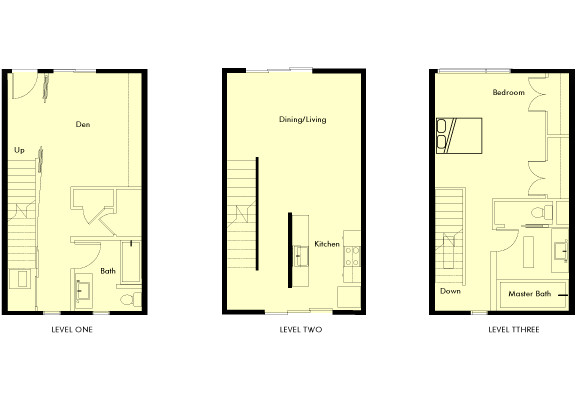 Pacific Cannery Lofts New Urban Home Floorplan