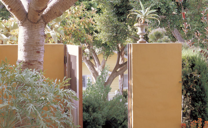 Pacific Horticulture Society Mediterranean Courtyard