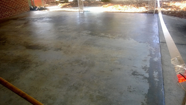 Painted Concrete Carport Floor Flickr Sharing